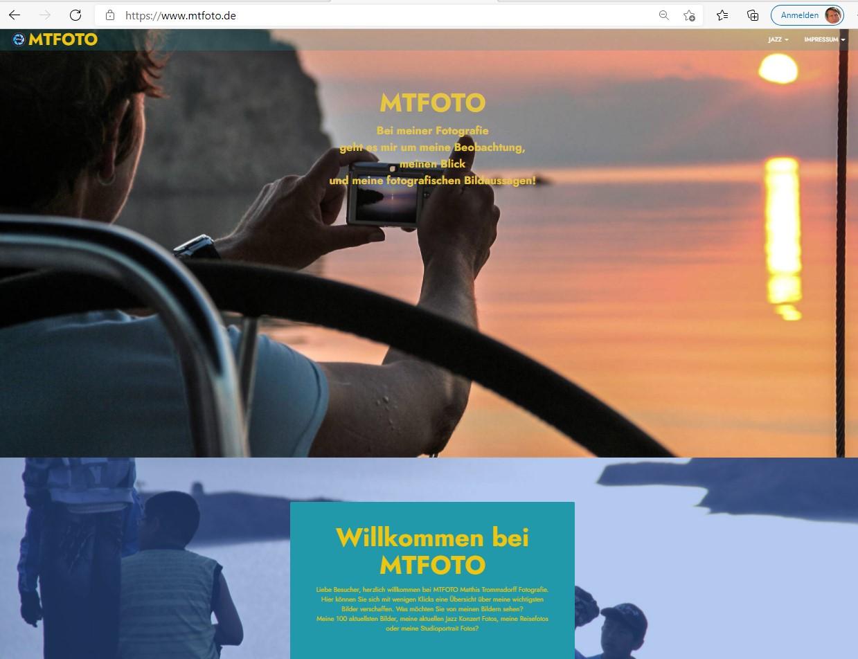 snip_Homepage MTFOTO.de  V1 +Fotos +Links