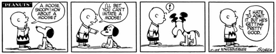 Snoopy: The Moose