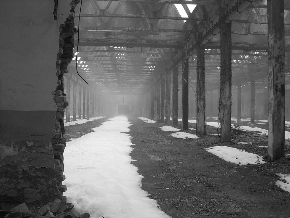 Snow and fog way