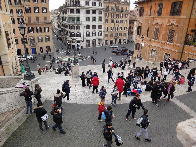 snow break in Rome