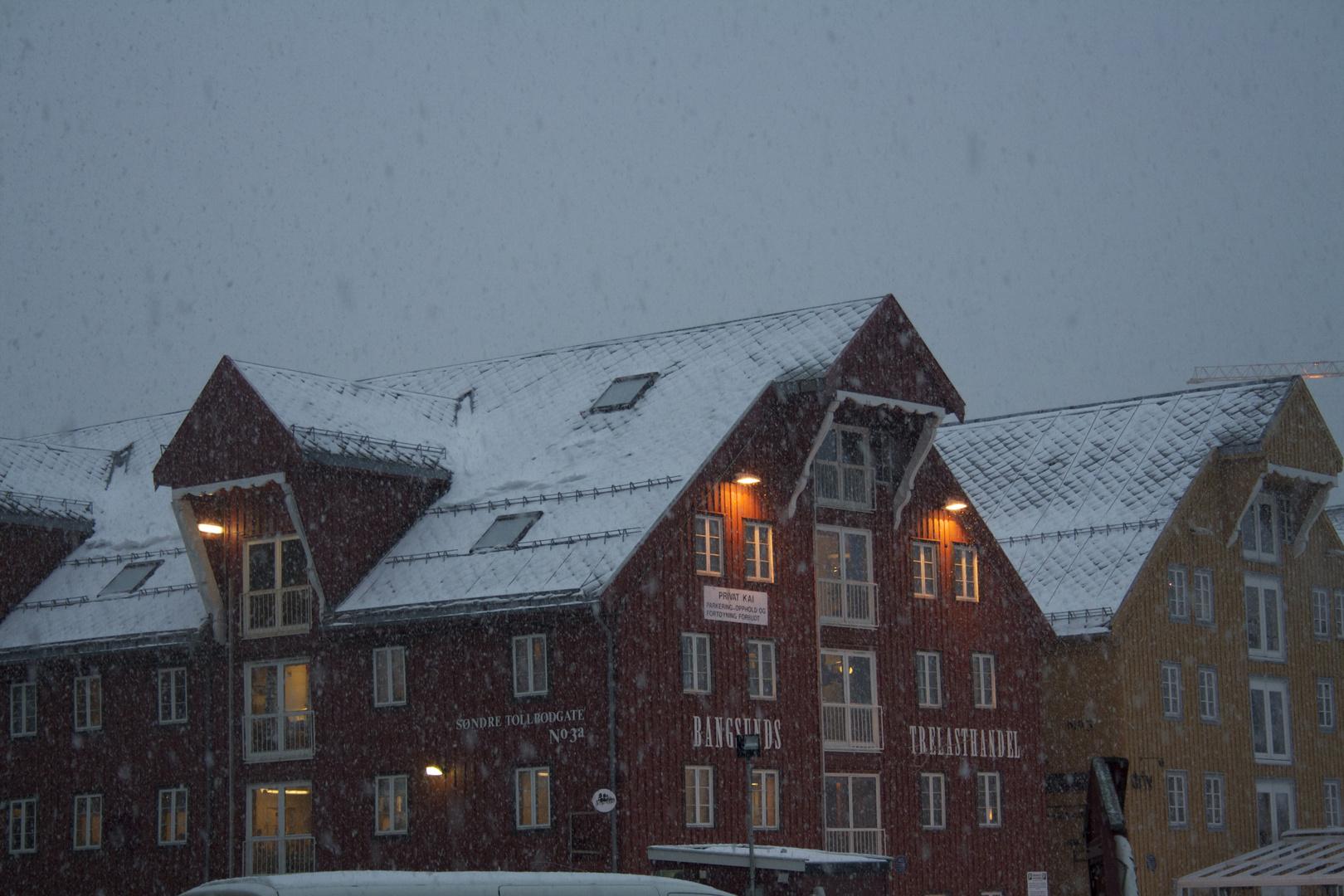 Snow Falling on Tromso II