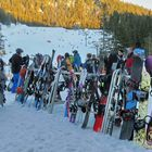 Snow - Finally - at 1000 Meters