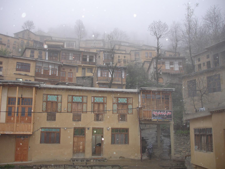 Snow in Masooleh