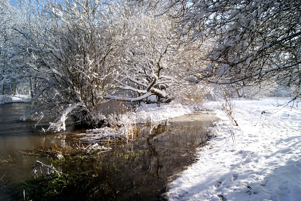 ---snow on the riverside---