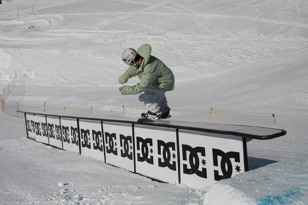 Snowboard Rail Rocker