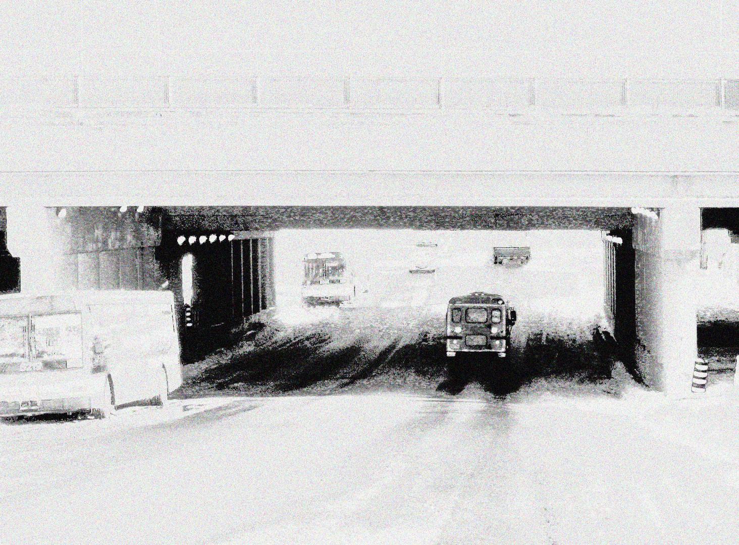 SNOWY, FOGGY TORONTO