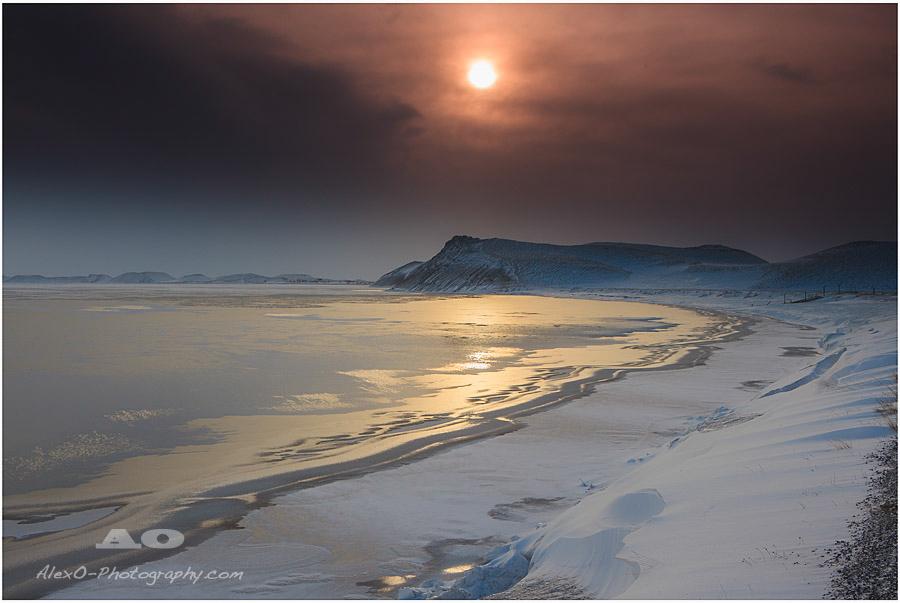 ...snowy sunshine....