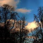 so blau der Himmel