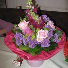 So einen schönen Blumenstrauß ...