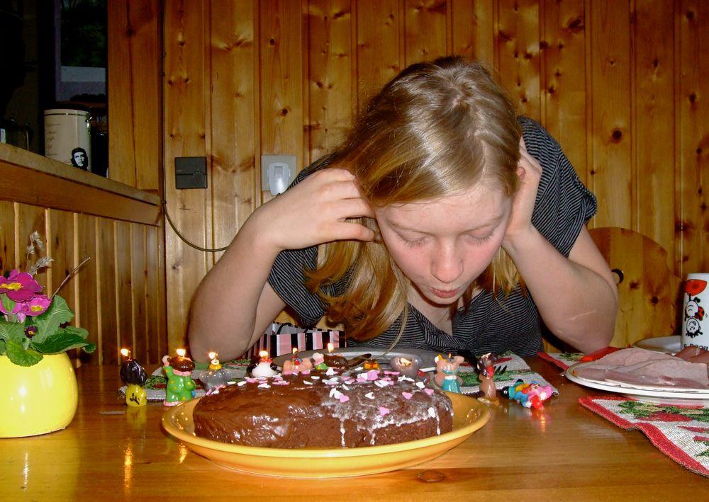°°° So fängt doch ein Geburtstag gut an °°°