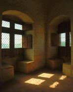 So gesehen auf Burg Beynac an der Dordogne