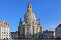 So hat die Frauenkirche vor 4 Jahren mit der tiefen Januarsonne gestrahlt...