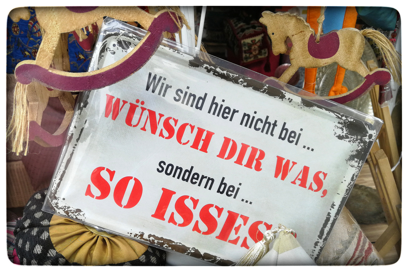 So isses ...