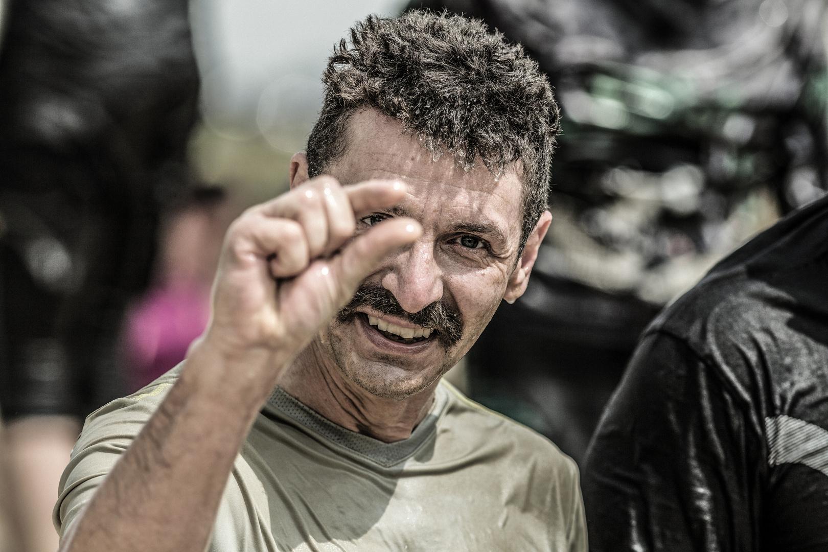 So Kalt War Das Foto Bild Sport Parkour Mud Masters 2017