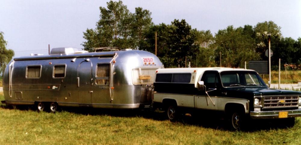 So machen Amerikaner Camping.........