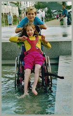 So macht Rollstuhlwaschen Spaß