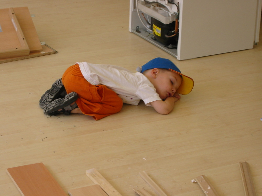 so müde