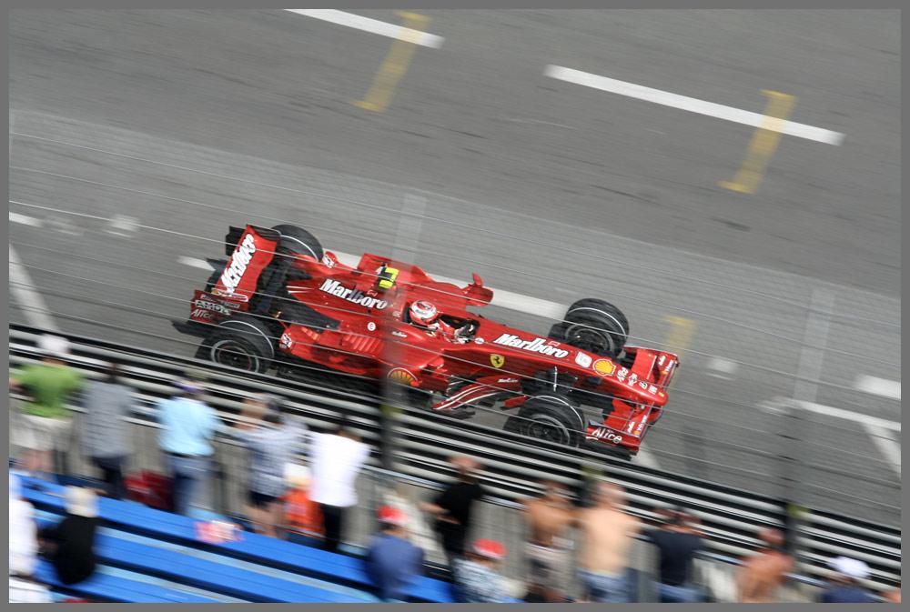 so nah kommt man ran in Monaco...