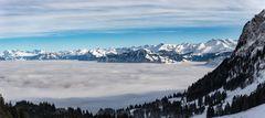So schön ist es über dem Nebelmeer