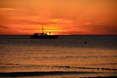 So schön kann der Sonnenuntergang sein