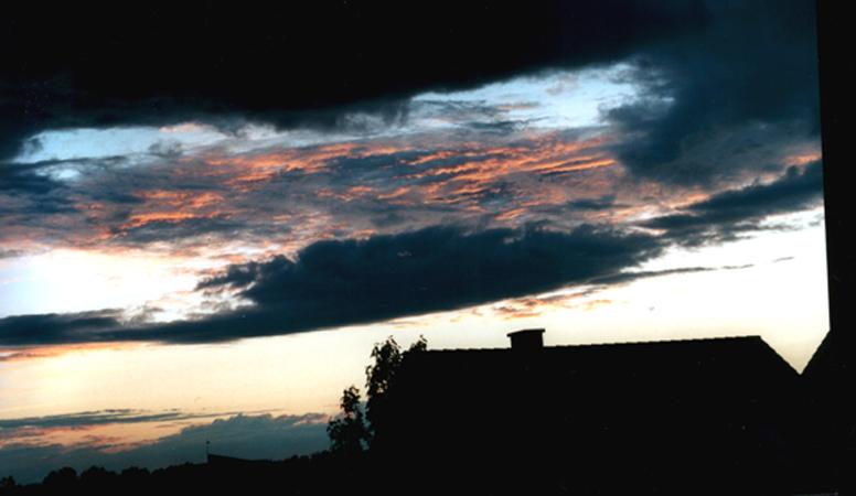 So schön kann die Sonne sein, sogar in Erftstadt