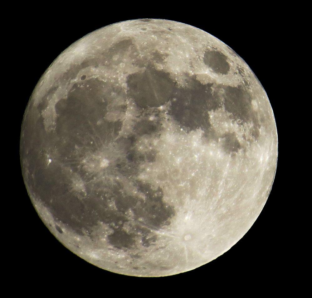 Der Mond Heute