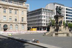 So sieht's aus ... Frankfurt eben.