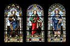 so viele Kirchenfenster gibt es in der Kiche von Plaffeien FR Schweiz