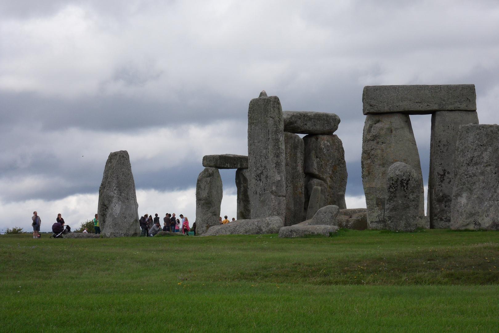 So viele Leute bestaunen so wenig Steine ...