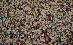 ... so viele Menschen !