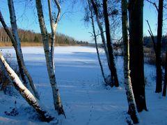°°° So was nenn ich Winterwetter - Senftenberger See vor genau 4 Jahren °°°