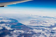 So wie es aus dem Flugzeug wirklich aussieht.