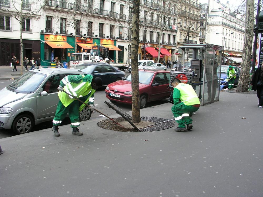 So wird Paris sauber gehalten