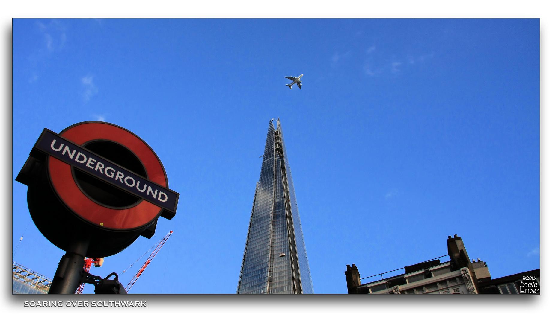 Soaring over Southwark