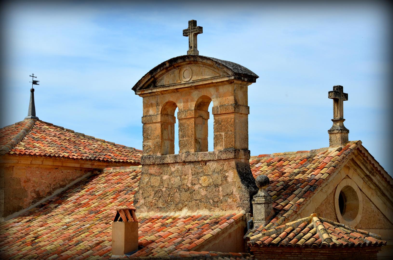 Sobre el tejado