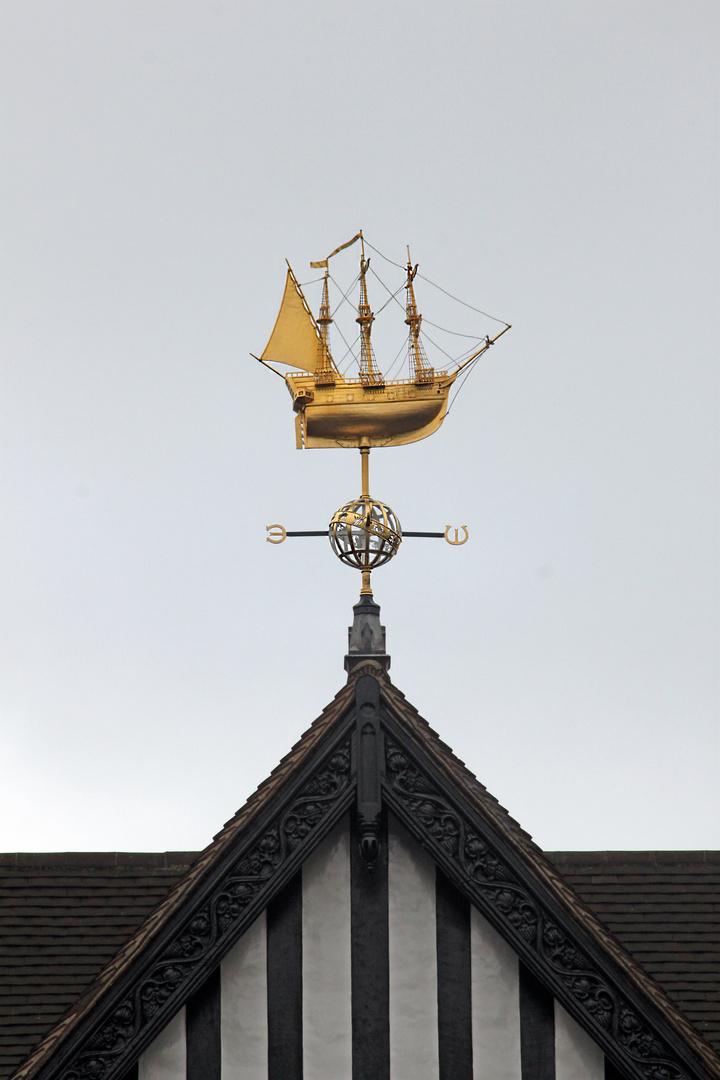 Sobre las tejas de Londres, cara al viento