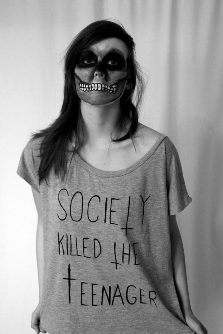 Society killed the teenager