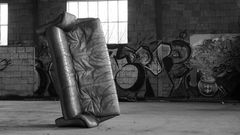 Sofa der Straße