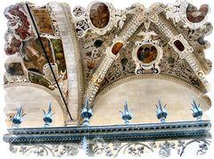 Soffito della Loggia di Siena