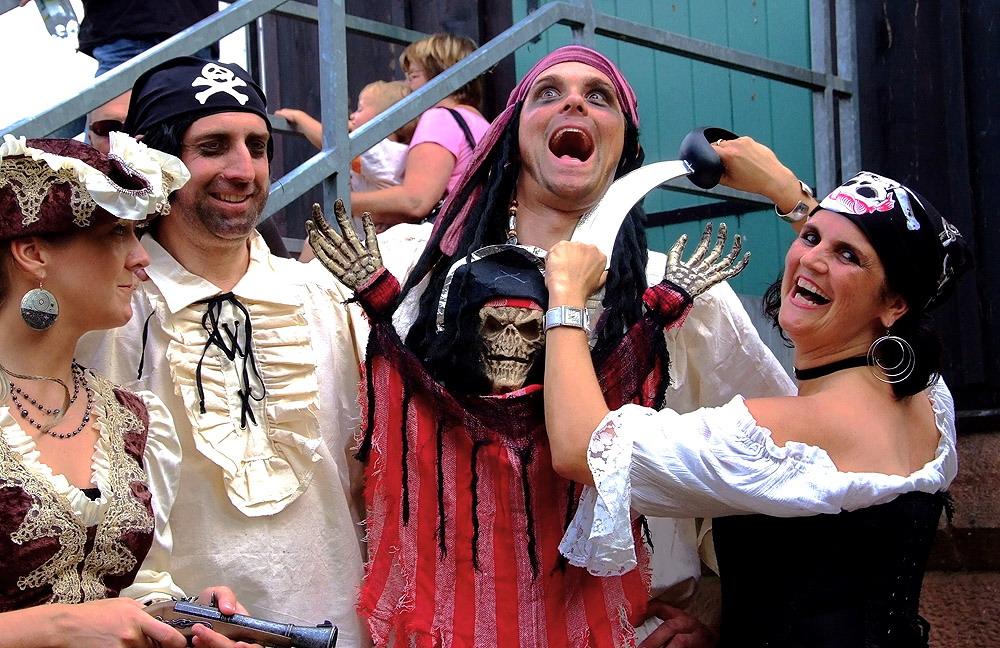 """Sogar """"gefährliche"""" Piraten ..."""