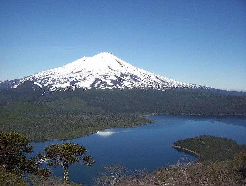 Sohn, Lago Conguillio y Vater, Volcán LLaima