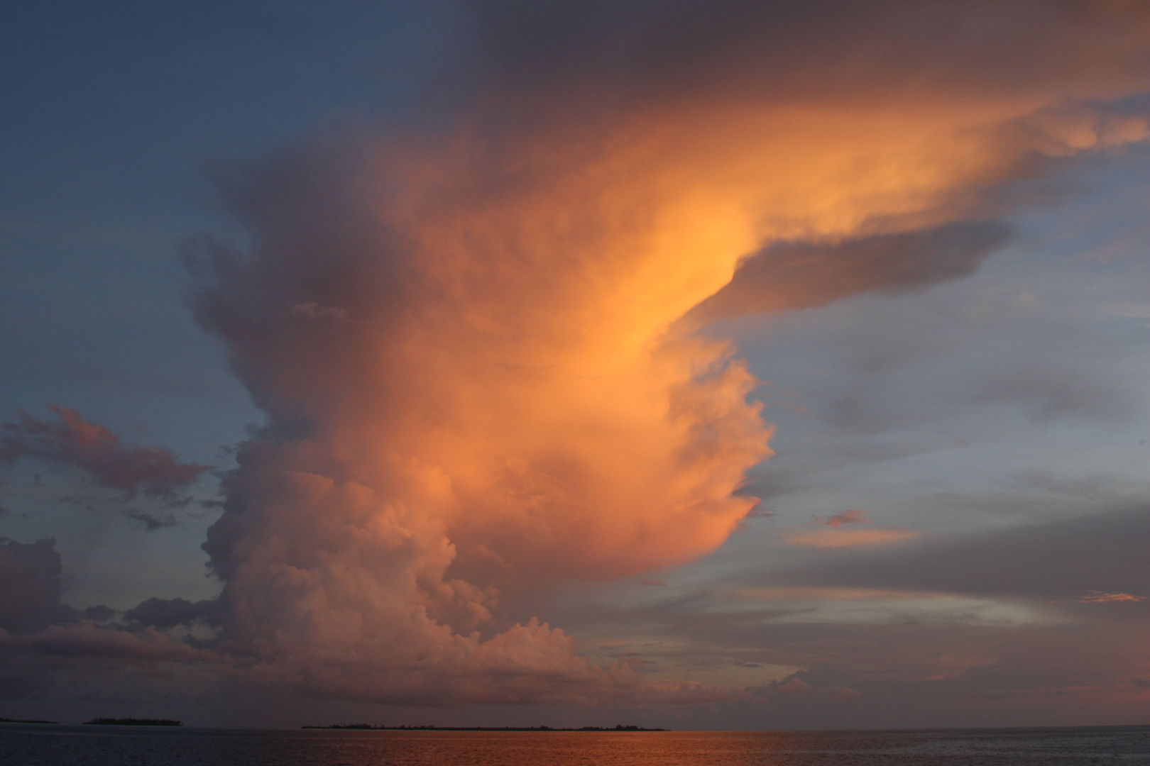 soir aux Maldives