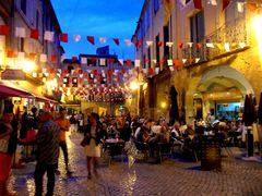 Soir d'été à Sommières, Gard