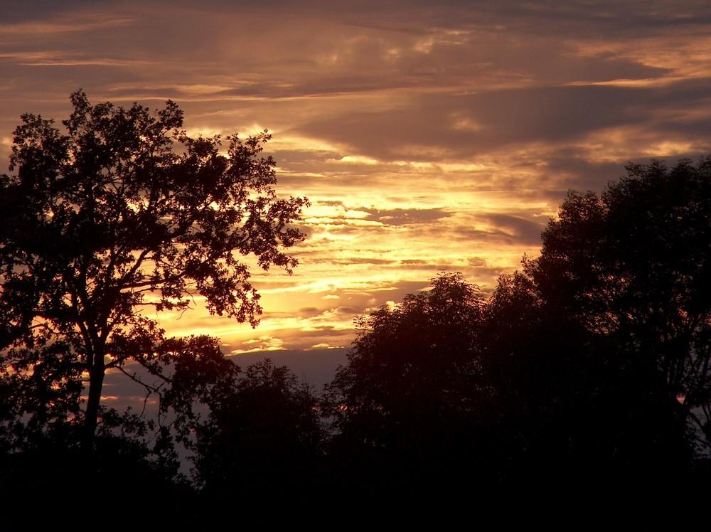 soirée d'automne