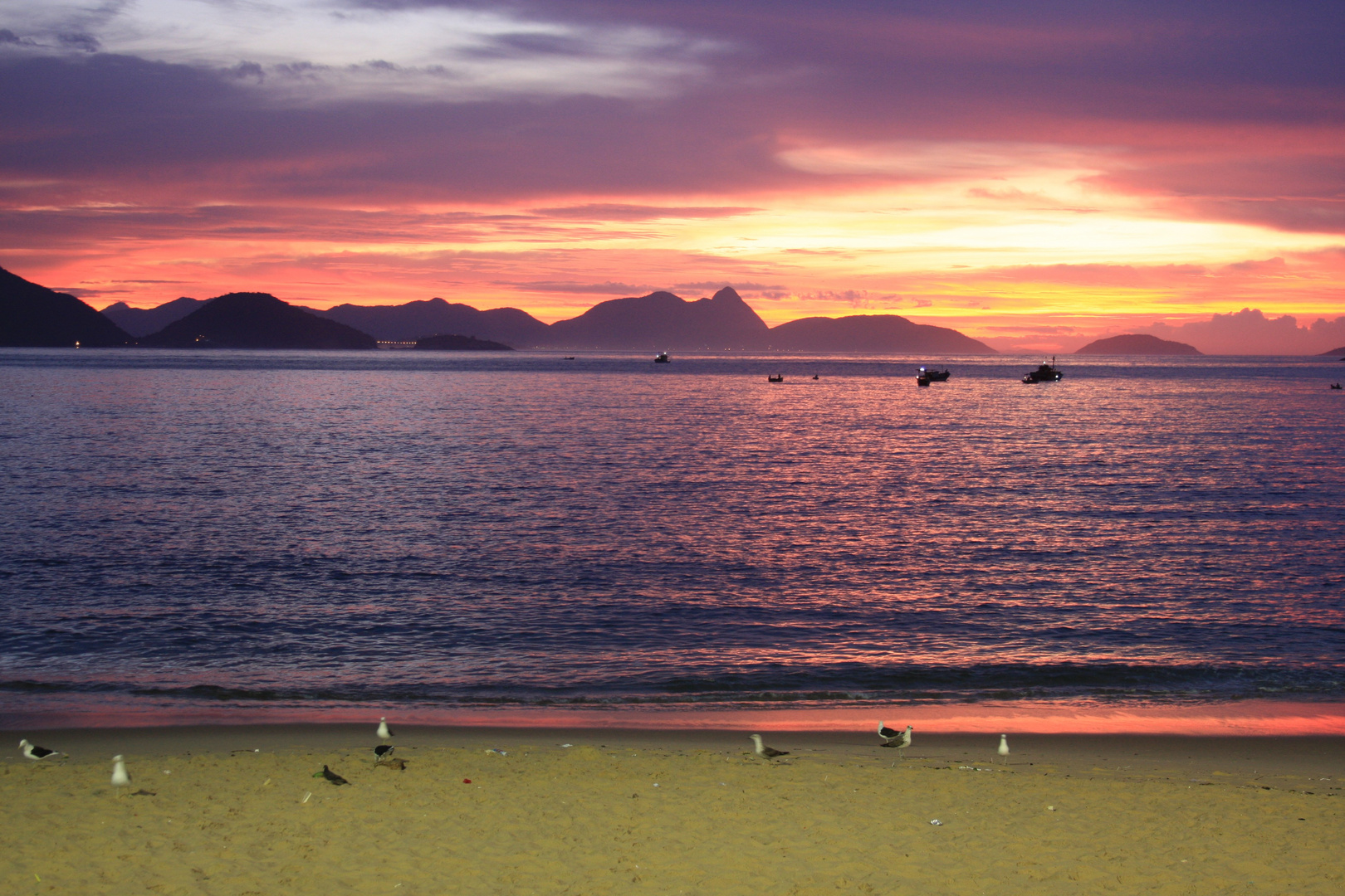 Sol Nasc Praia Vermelha 2