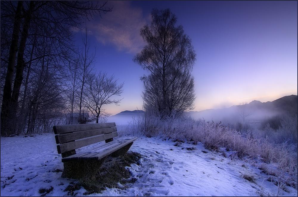 Solange es einen Hauch von Winter gibt...