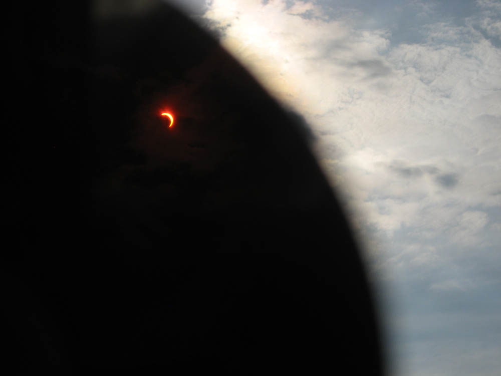Solar eclipse. Is coming..