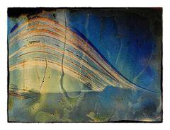 Solargrafie 184 Tage Belichtung *** Landschaft mit Baum ***