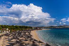 Solaris Sand Beach, Sibenik, Dalmatien, Kroatien