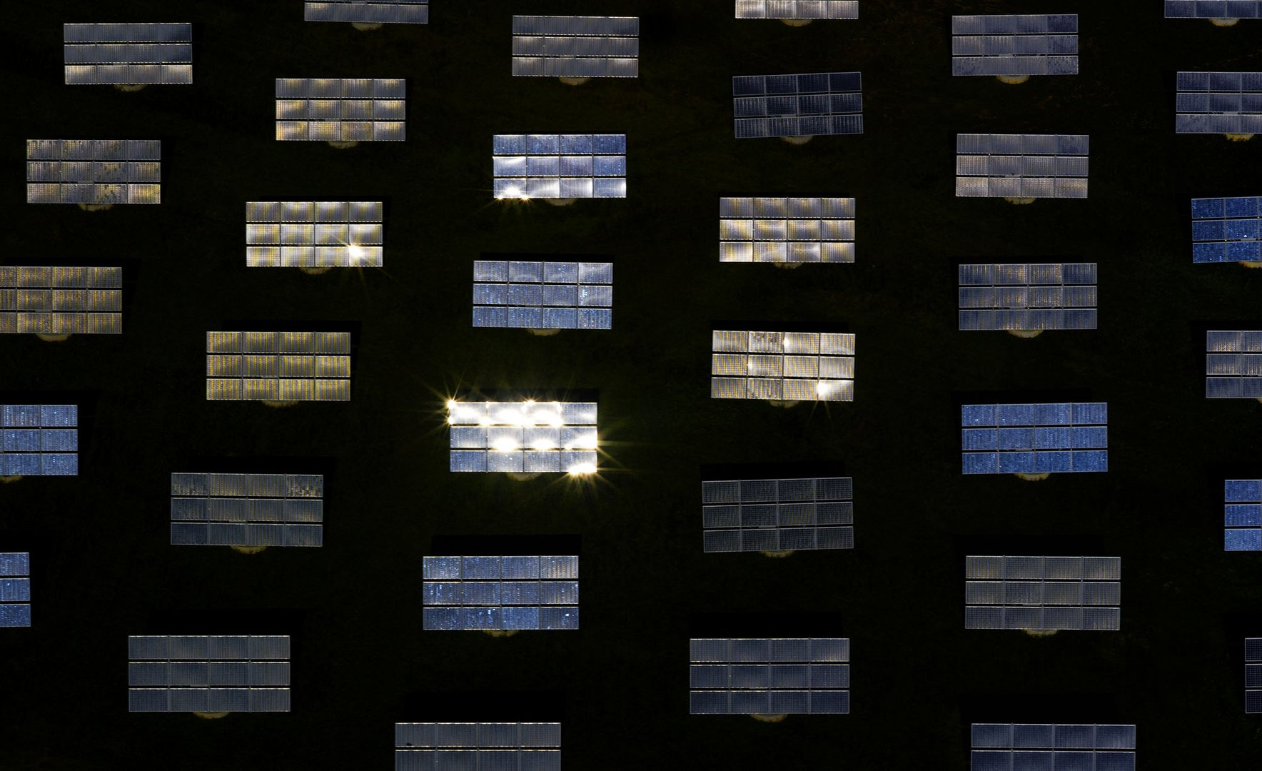 Solarpark Bavaria bei Arnstein